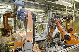 Operating industrial robots and welding equipment safely