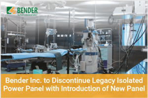 Bender discontinuation of power panel