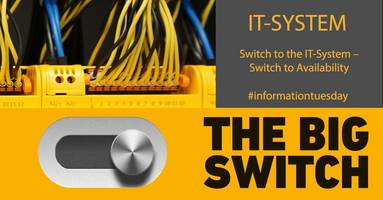 New: Informationtuesday about the IT system - The Big Switch
